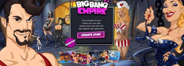 Big Bang Empire Android APK mobile browser porn game