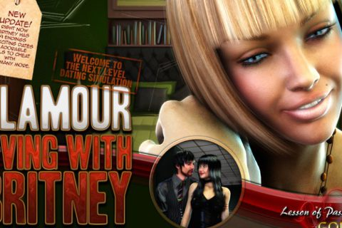 Play Living with Britney online game by Lesson of Passion GOLD
